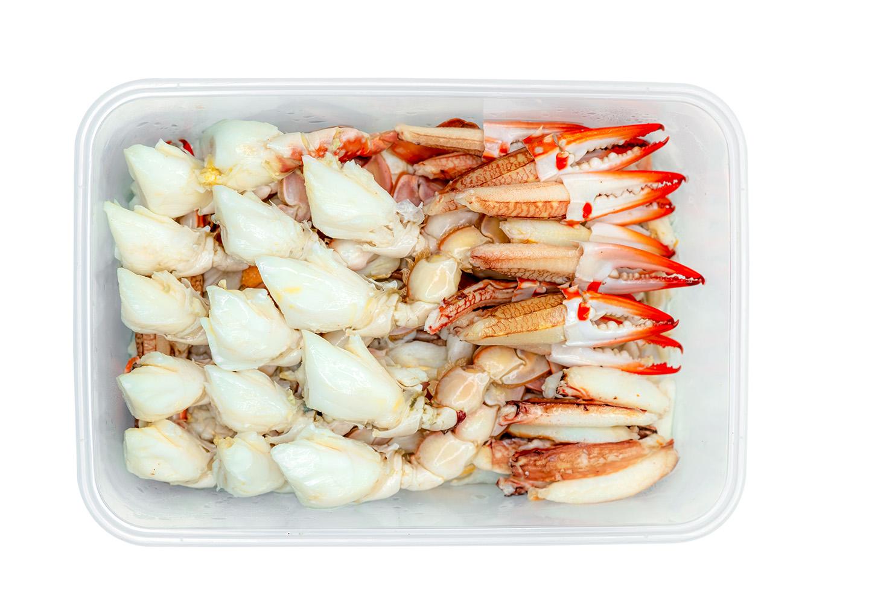 Caranguejo: Carne De Caranguejo Branco Pasteurizada 450g